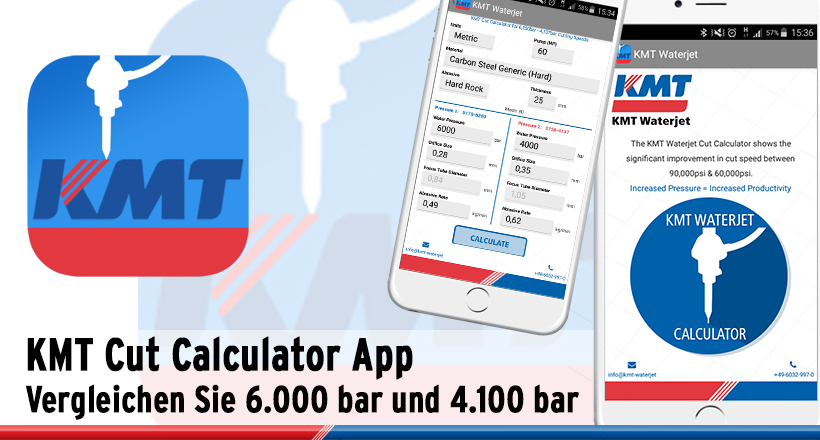 KMT Cut Calculator App
